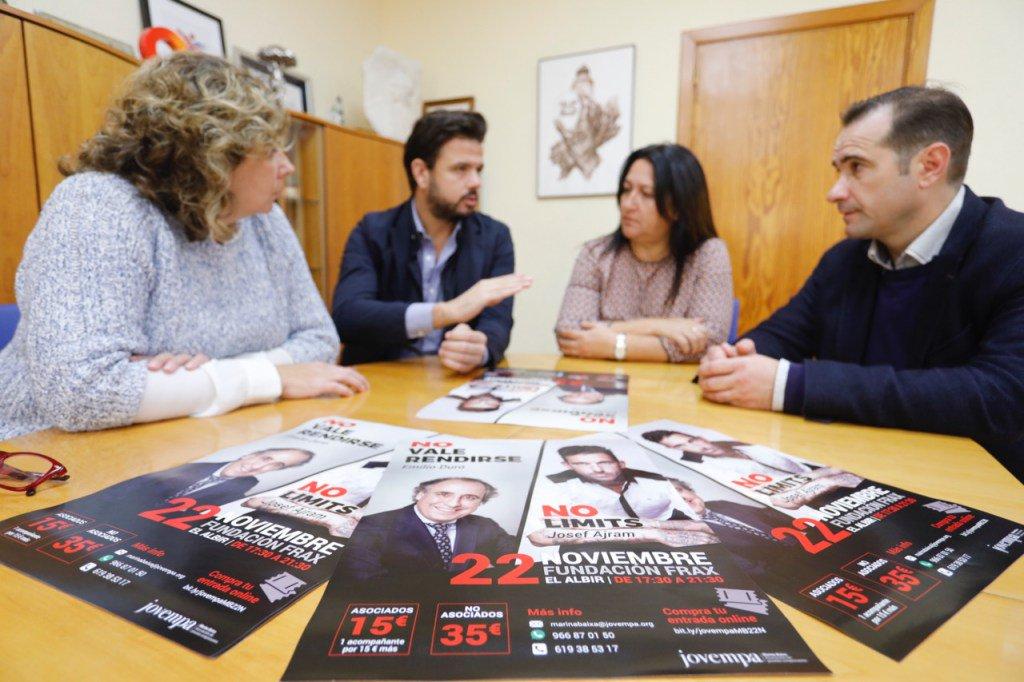 Emilio Duró y Josef Ajram hablarán sobre sus experiencias en la FundaciónFrax https://t.co/gahtgDIilt https://t.co/br3mFQ6foF