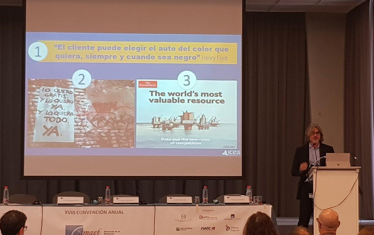 Una curiosa afirmación. #amaef #Seguros con José Antonio Sánchez, Director General de ICEA https://t.co/HzKDS0A0Cj