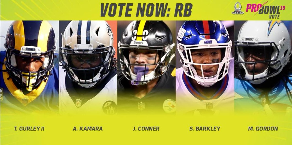 Ad: Voting for the 2019 @NFL ProBowl is officially open! VOTE HERE: