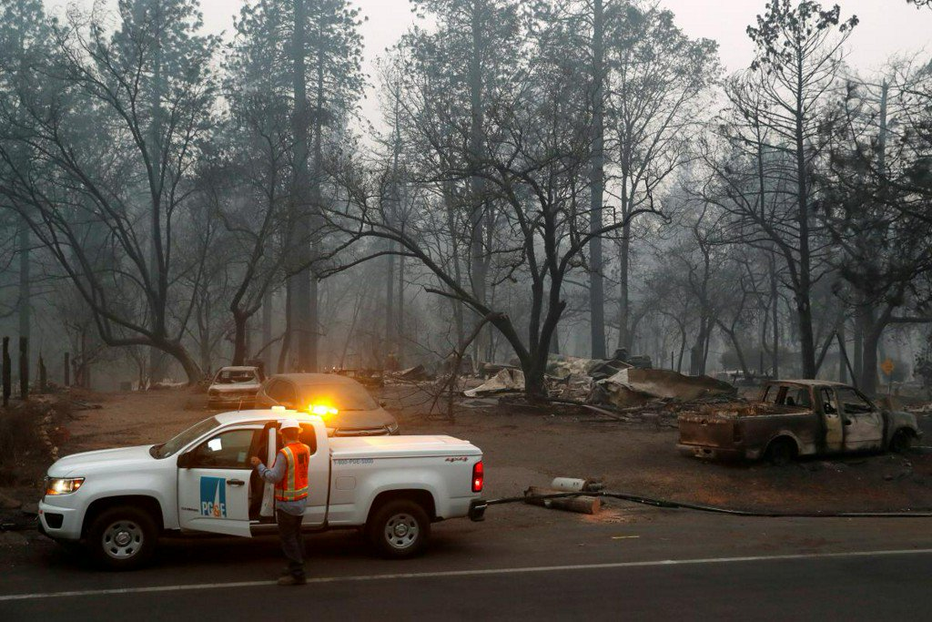 PG&E shares, debt rebound as regulator soothes bankruptcy fear