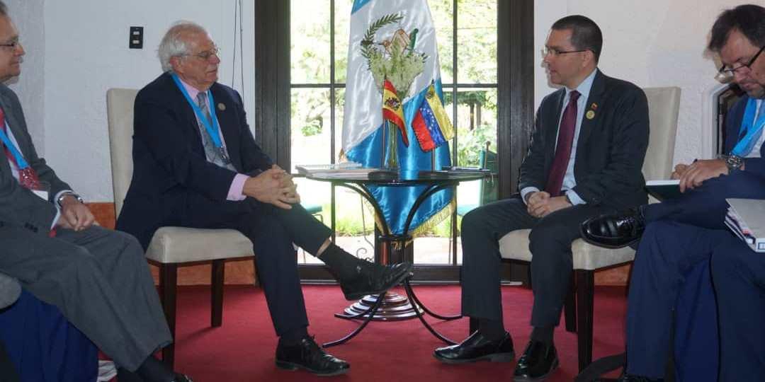 Arreaza fortalece relaciones con miembros de Andorra, Uruguay, España y Portugal - https://t.co/JlR1PITHPA https://t.co/usIPnM5KD3
