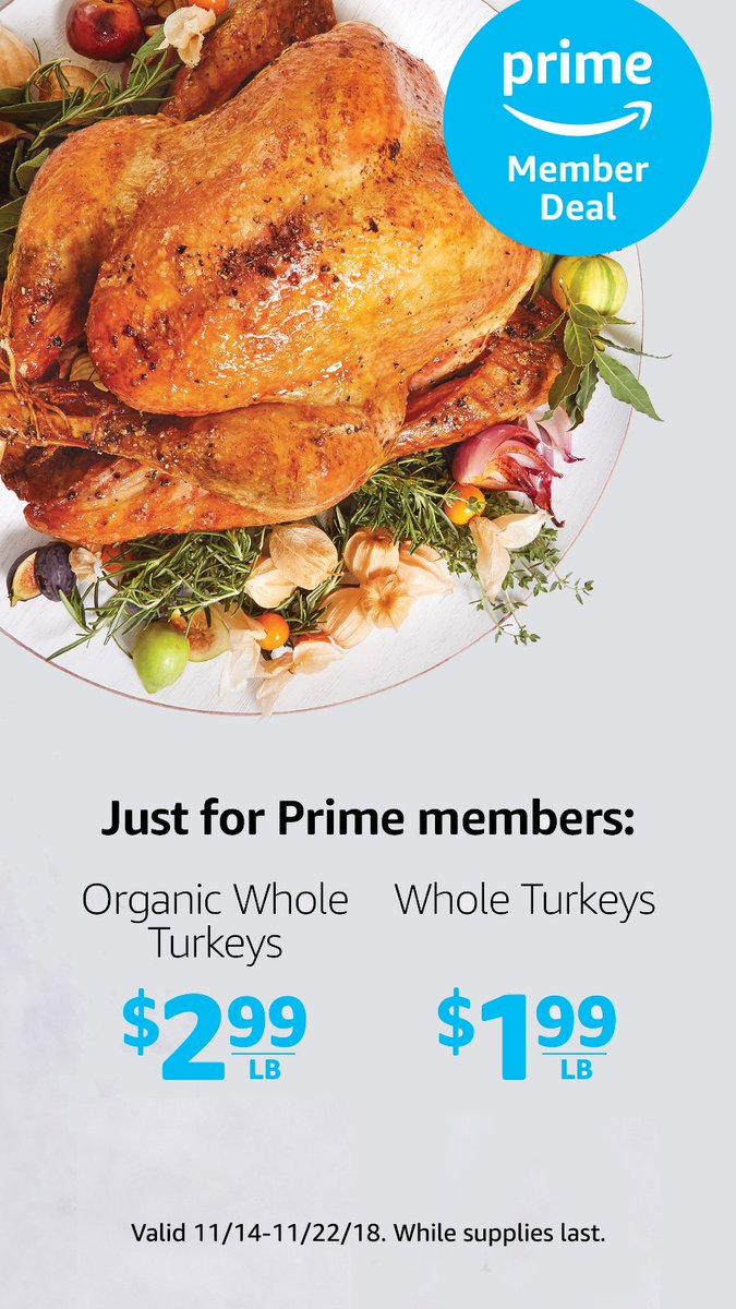 From turkeys to gravy to pumpkin bread, check out all of this week's #DelishDeals: https://t.co/94kV0vKGqY https://t.co/YI9BEGVXC1