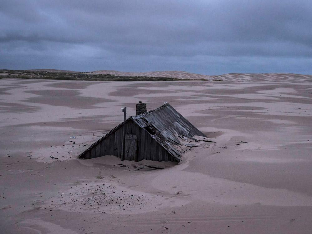 Life inside the Russian village slowly being swallowed up by sand