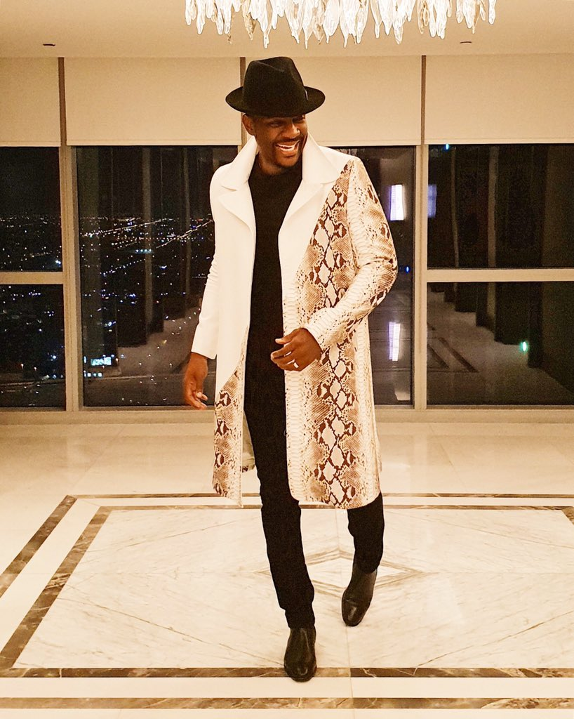 RT @Ebuka: Action!!! One Africa Music Fest Dubai!!! #DubaiOneAfrica Outfit: @TOKYOJAMESS https://t.co/qKGrchgzUo