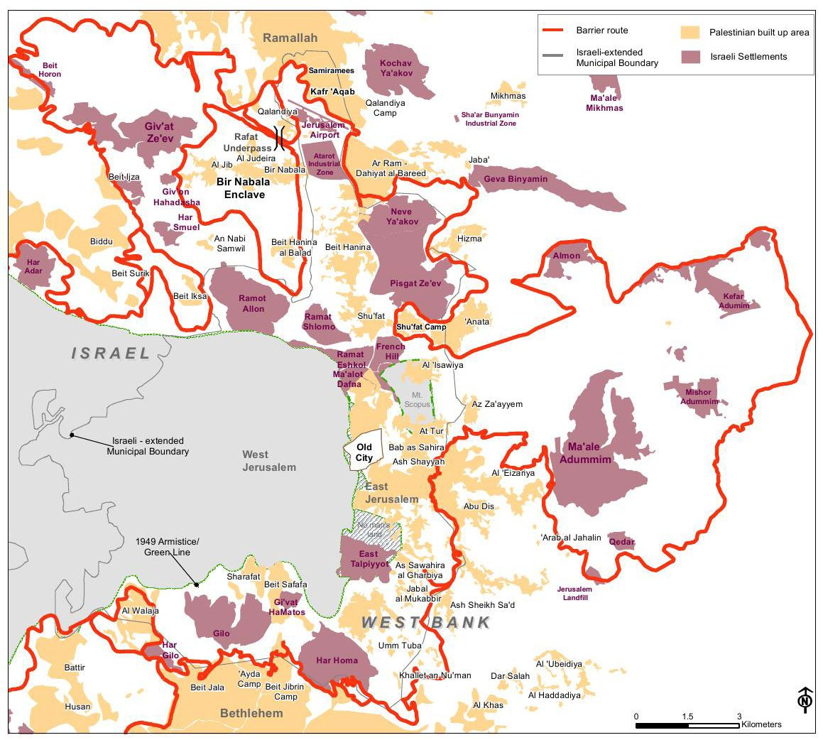 Israel's settlements: 50 years of land theft