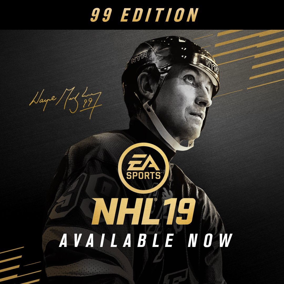 test Twitter Media - This holiday season, play #NHL19 as Gretzky in his Team Canada gear with the exclusive #99Edition.   Available now: https://t.co/MPyUVza6sa https://t.co/hR2QAzdM7Q