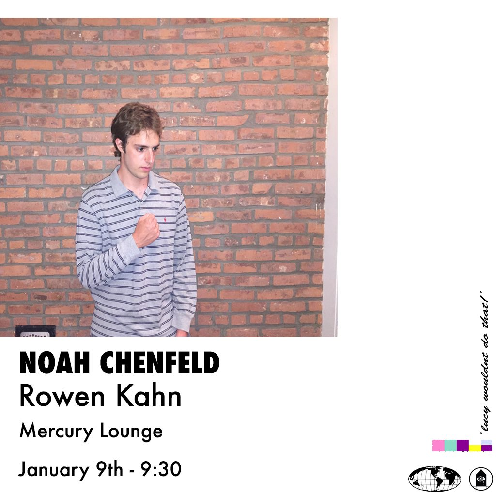 RT @NoahChenfeld: tickets for my january 9 @MercuryLoungeNY show are on sale now !!  https://t.co/lk4JAOBEjQ https://t.co/qjeBuqjMO0