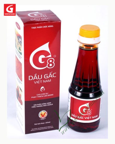 Vietnam's Gac Oil - G8 $10.00 #GacFruit #BetaCarotene #AntiAging @ViecBuonBan #Vietnam #ShoppingVietnam pls RT! https://t.co/VLgV1mrEKU
