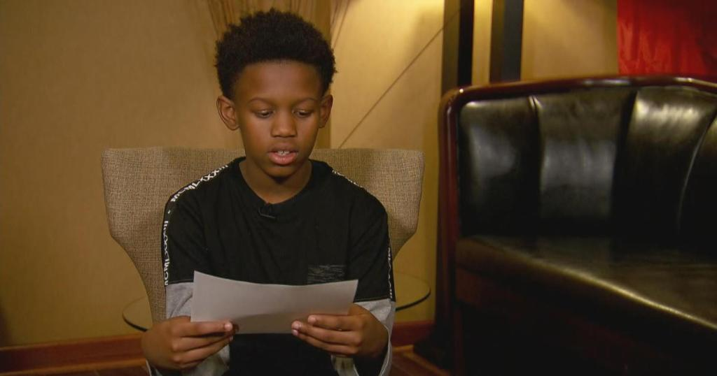 12-year-old boy writes goodbye letter to his family during school lockdown
