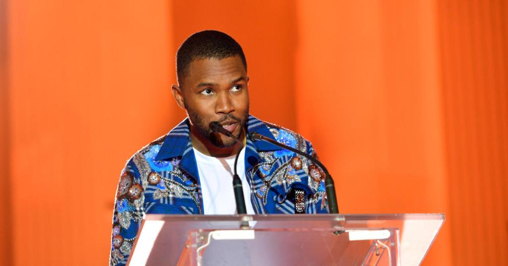 Frank Ocean unveils secret Instagram account