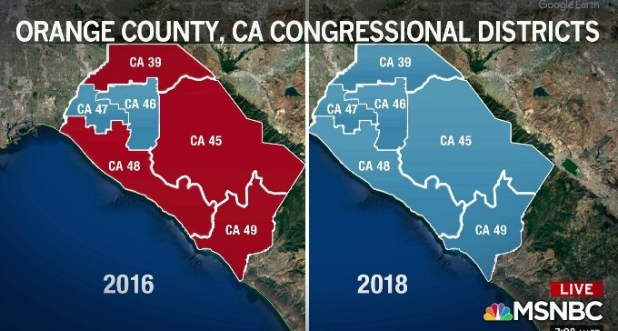#BlueWave in full effect  #California https://t.co/Glhf3zXbGU