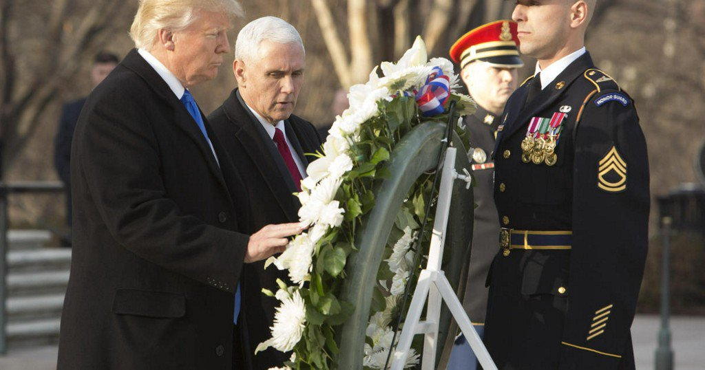 Trump says he should have visited Arlington National Cemetery on Veterans Day
