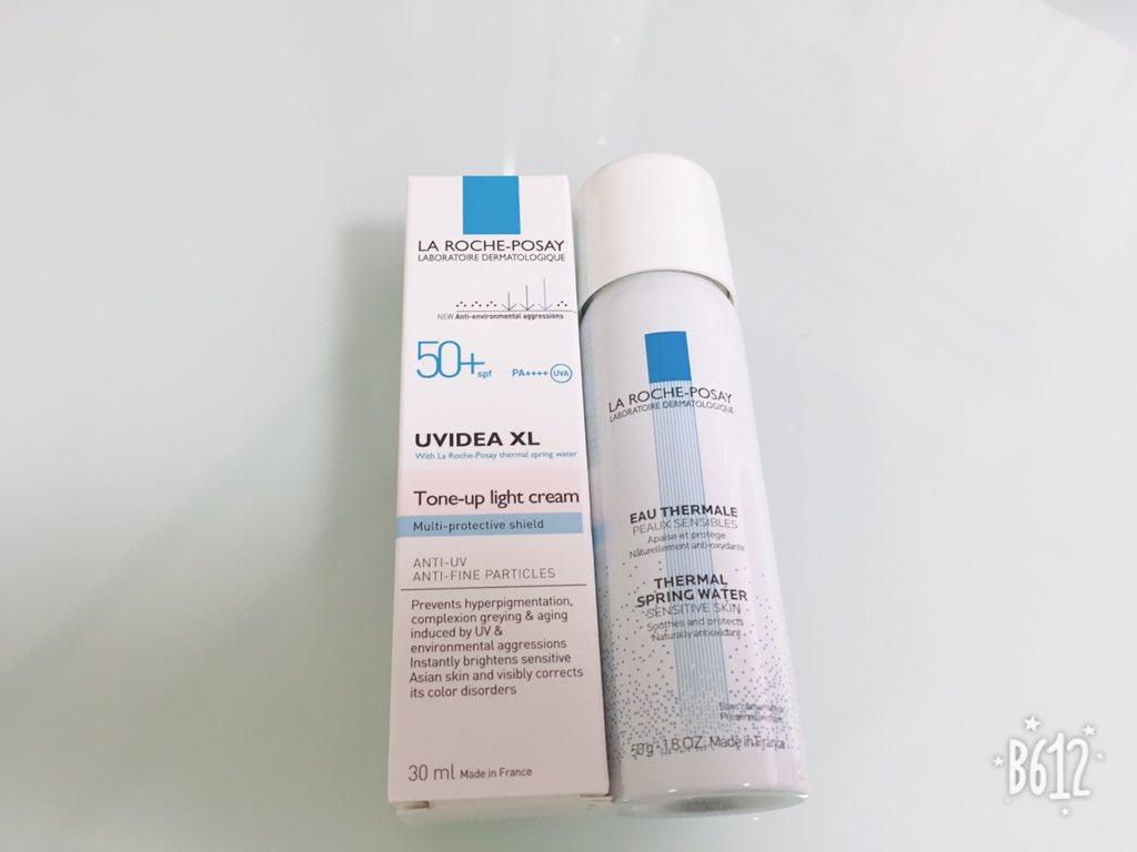 test ツイッターメディア - ラロッシュポゼの日焼け止め乳液・化粧下地も買った〜。同じ値段で化粧水ミストもついてきてお得。秋冬でも紫外線は気になるからね…後はサングラスからUVカット眼鏡に変えて対策する。 https://t.co/vXOzxgylV1