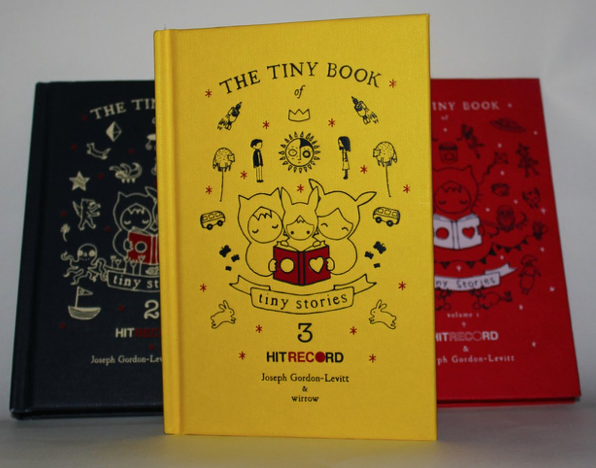 The Tiny Book of Tiny Stories, vol. 1-3.  *Save 10%* now when you order all three: https://t.co/4DnfJZMuHd https://t.co/NpxTqTGFRz