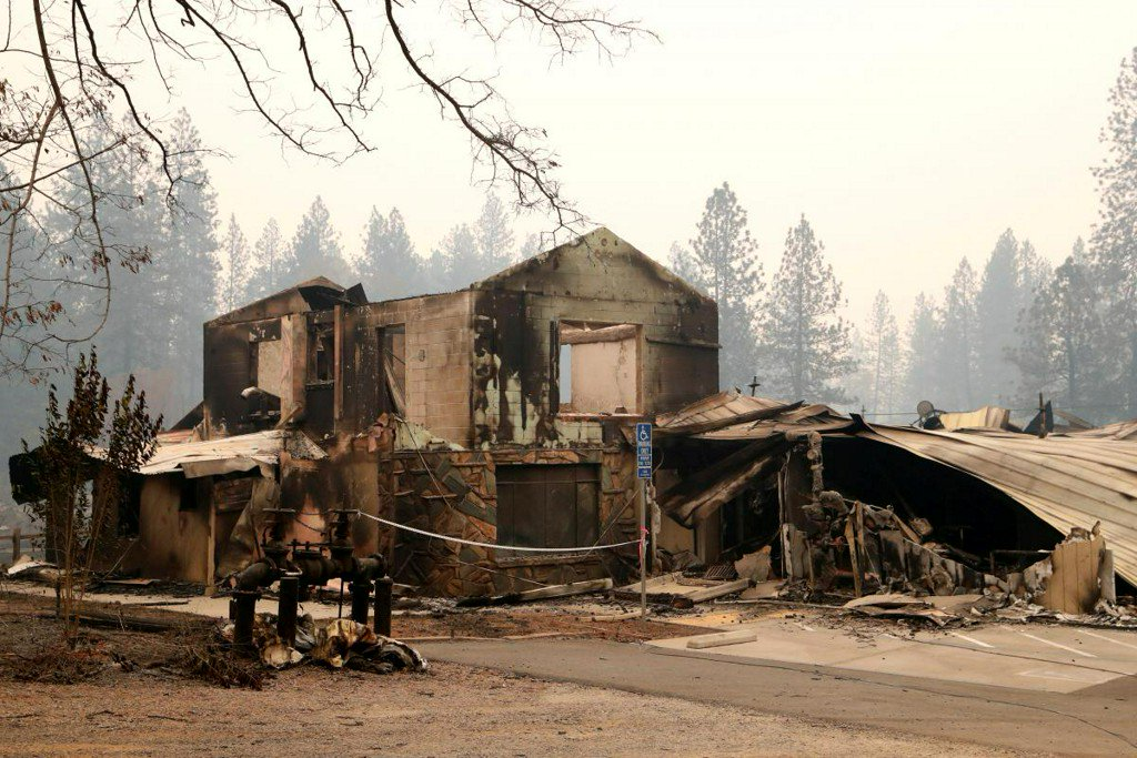 Evacuation plan 'out the window' when fire hit California town