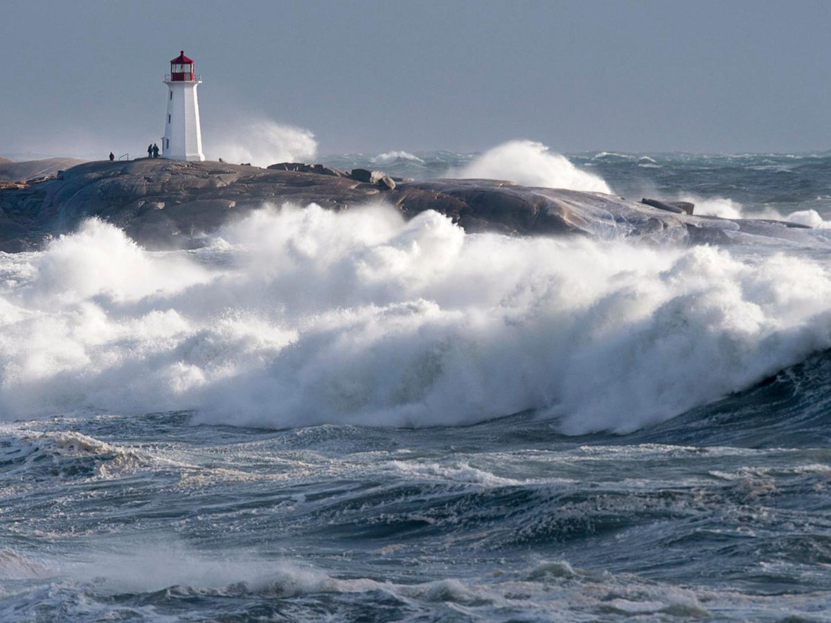 Bad weather hampers oil spill containment off the coast of Newfoundland