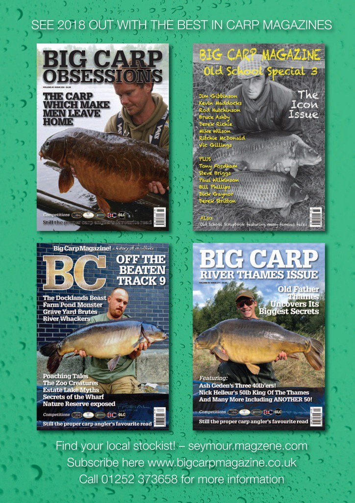 XMAS SUBBY? - CHECK OUT THE BIG CARP SHOP - https://t.co/IboWO8YSzm #fishing #carp #carpfishing #rob
