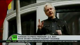 US 'secretly charged' Assange, prosecutor accidentally reveals – WikiLeaks  READ MORE: