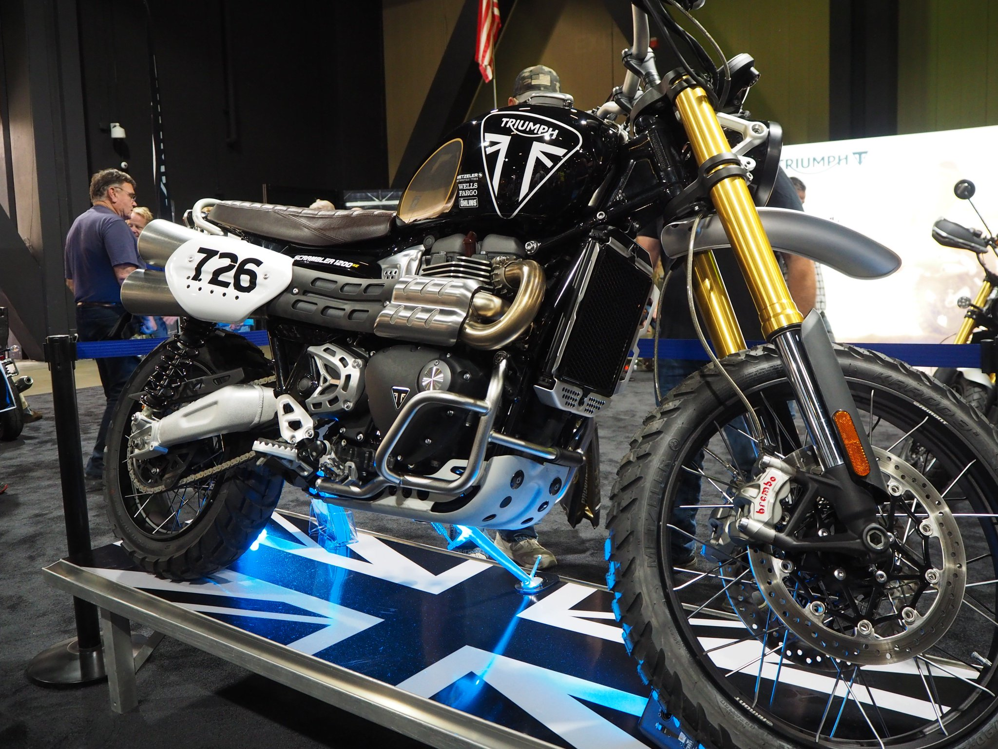 We are at Long Beach IMS all weekend! Be sure to be one of the very first see the all-new Scrambler 1200 and Baja Racer. https://t.co/CwHANRfzDl