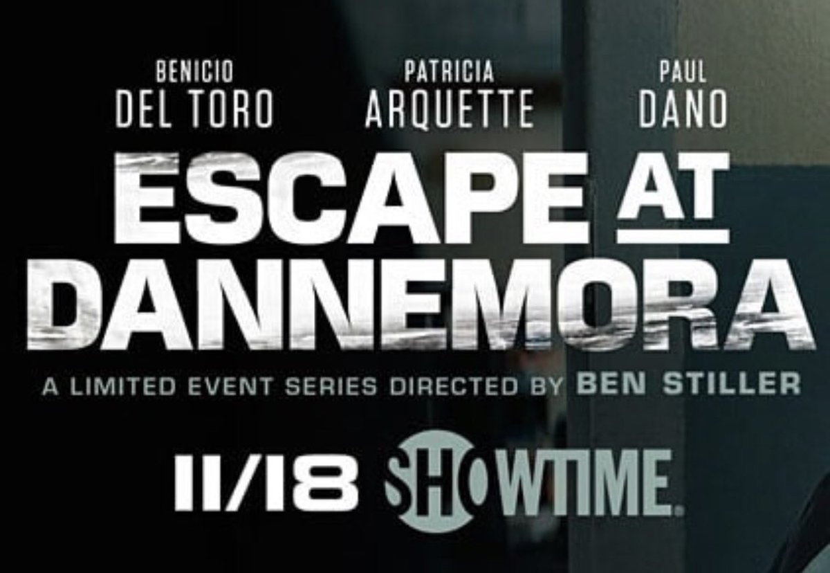 RT @DominicColon: Tomorrow it GOES DOWN!!! #EscapeAtDannemora @Showtime https://t.co/iDBJqEtrqH