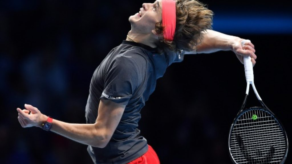 Zverev shocks Federer to reach final of ATP Finals