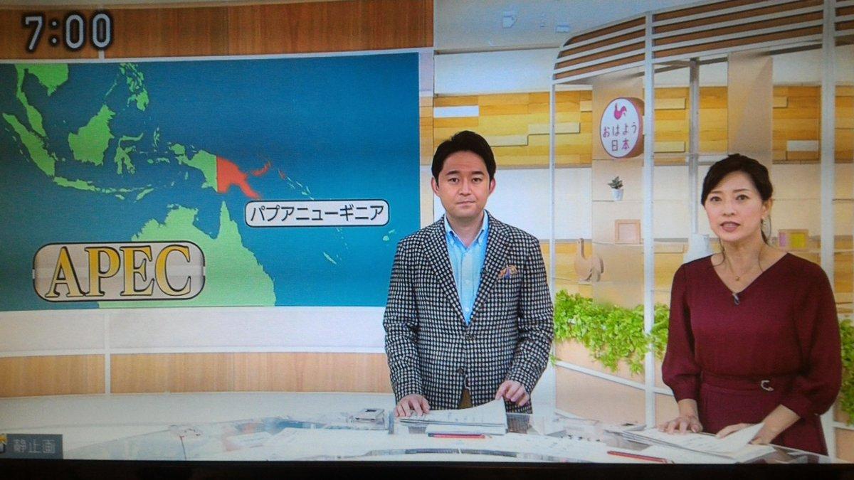 test ツイッターメディア - 休日出勤でブルーな気持ちが、小郷知子さんの美しさでバラ色に変わる! #小郷知子 さん今週末も美しくてありがとうございます。#NHK https://t.co/dHbmY7UFC9