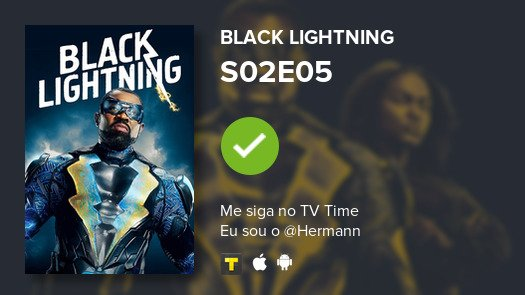 Acabei de ver Black Lightning S02E05 #blacklightning  #tvtime https://t.co/QEd6XJy6fH https://t.co/EjNgq09bDY
