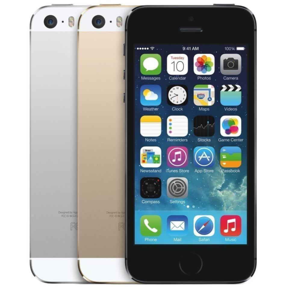 "Apple iPhone 5S 16GB 32GB 64GB ""Factory Unlocked GSM"" 4G LTE iOSSmartphone..."