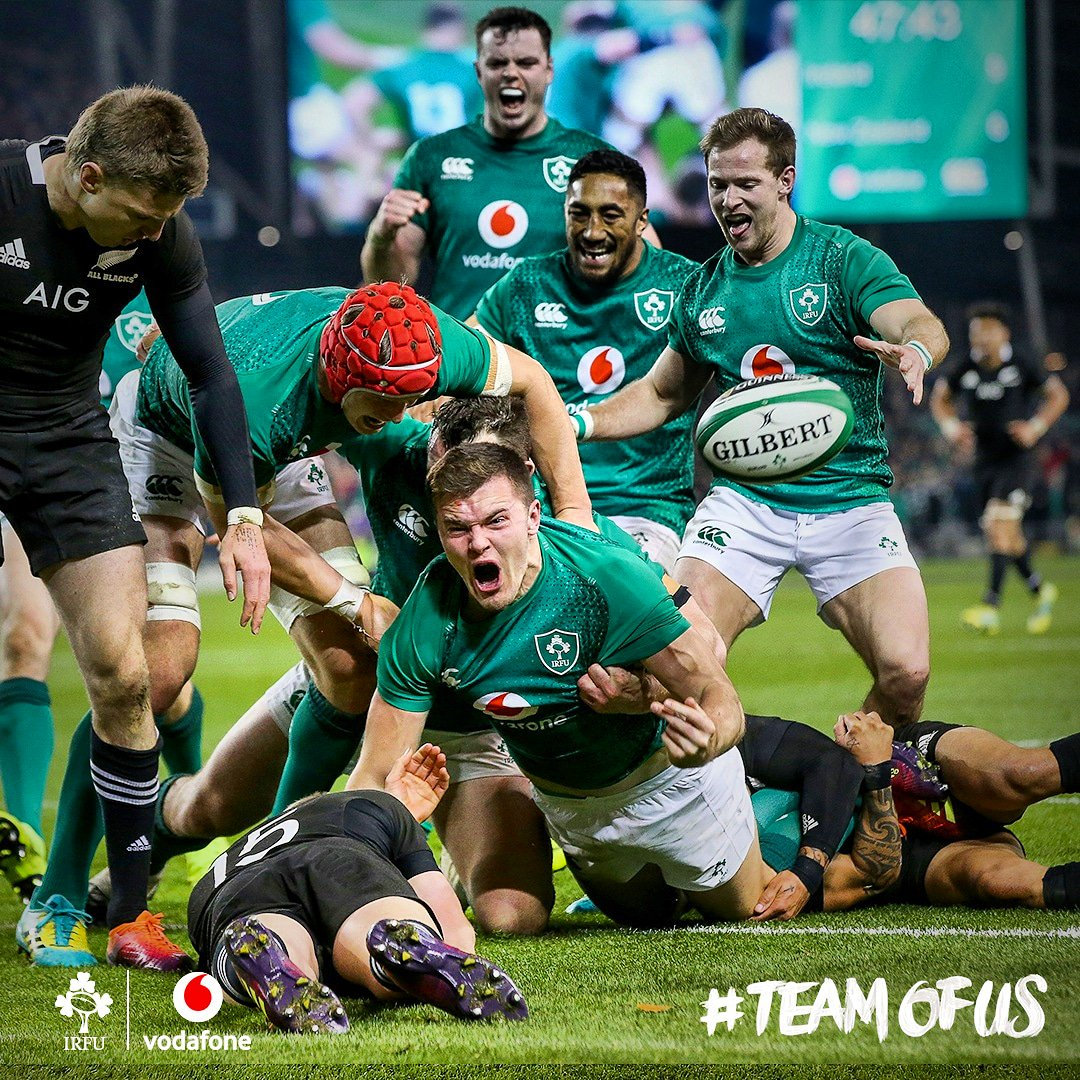 It's ok we've checked it wasn't a dream 😉 #IREvNZL #TeamOfUs https://t.co/HqEb3SWEWb