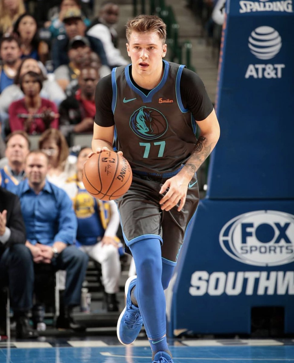 RT @TheNBACentral: Luka Doncic this season   19.5 PPG 6.6 RPG 4.2 APG 47% FG 38% 3PT 77% FT  Only 19 years old https://t.co/8xd2wUu8IS