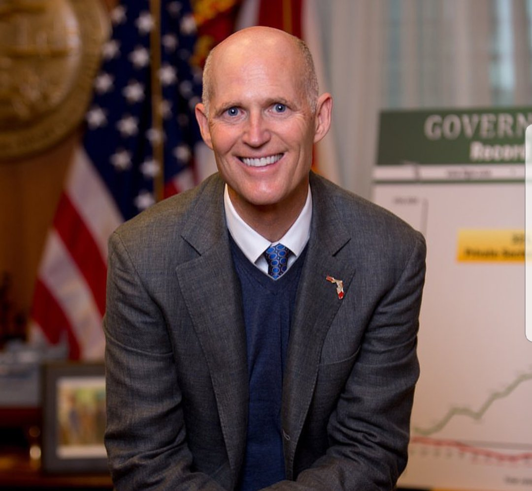 RT @MatteaMerta: Congratulations, @FLGovScott on surviving the #FloridaRecount madness! #USA https://t.co/f1Ru65NA6E