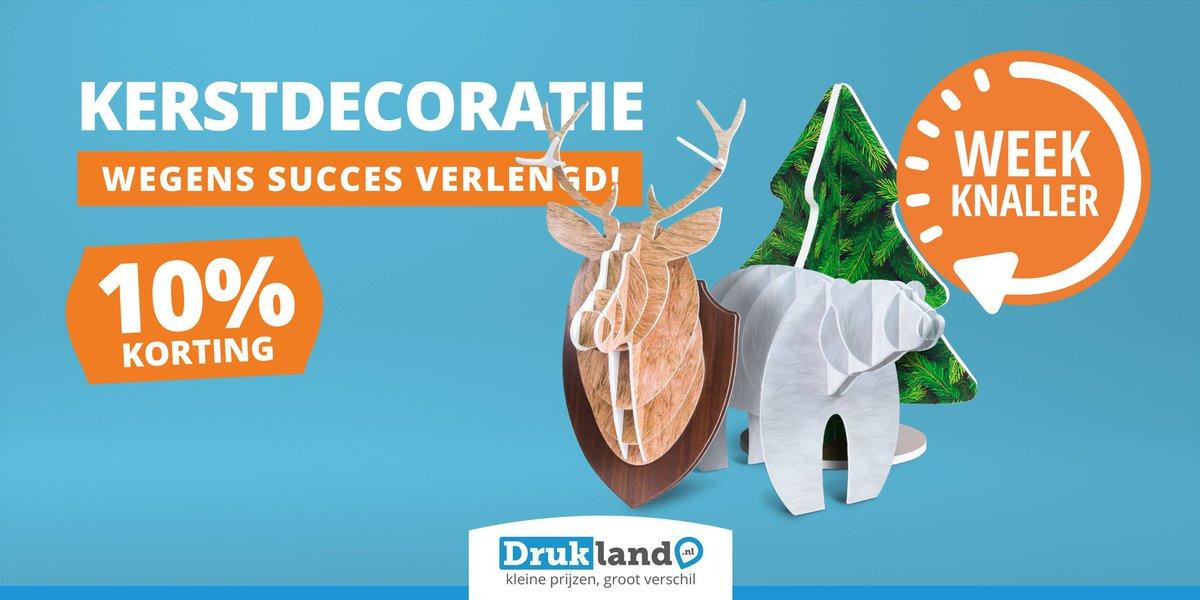 test Twitter Media - WEEKKNALLER | kerstdecoratie 10% korting!We bedrukken de decoratie met je eigen ontwerp of één van onze kleuren. Geef je interieur eenvoudig een winterse look met bijvoorbeeld een hangende kerstboom, hip rendierhoofd of stoere ijsbeer. Waar ga jij voor? https://t.co/Hc1VOrOqSj https://t.co/PU0DbdTLLW