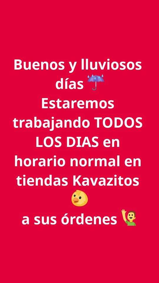 En Kavazitos trabajamos todos los días 😎 a tus órdenes 🙋♂️ #Montemorelos #GeneralTeran #RegionCitricola #FelizLunes...