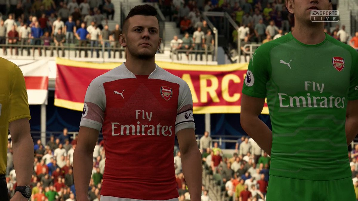 He is back! Jack Wilshere is back!  #cjmfootball #FIFA19 https://t.co/QNMSo5OhCd