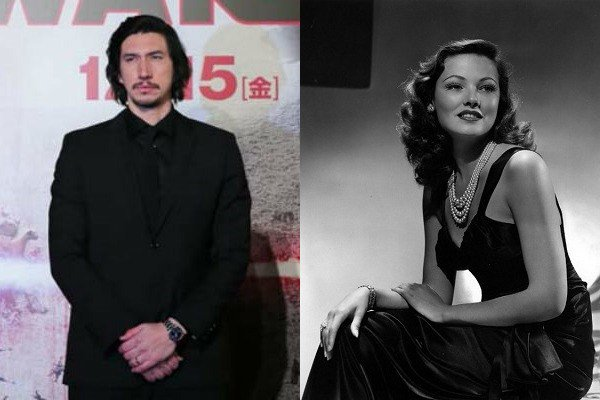 November 19: Happy Birthday Adam Driver and Gene Tierney