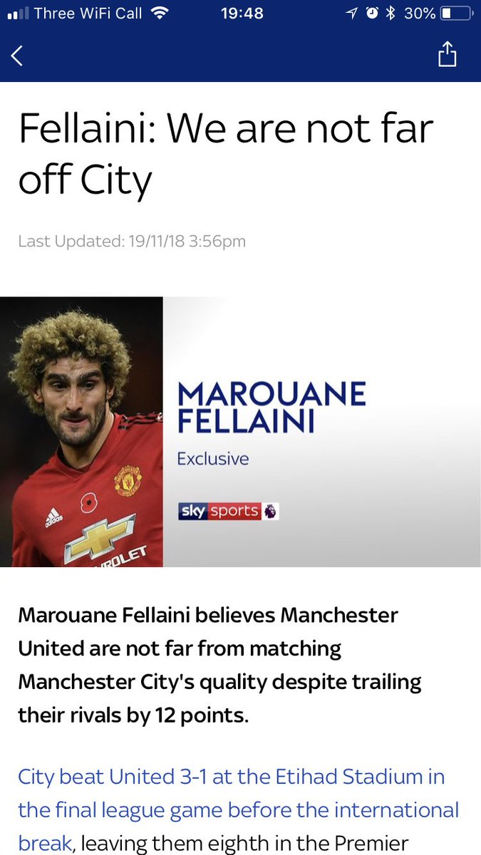 @Fellaini 😂😂😂😂 what a guy! How do you think you are not far off city??? https://t.co/dcnGR4Vgss