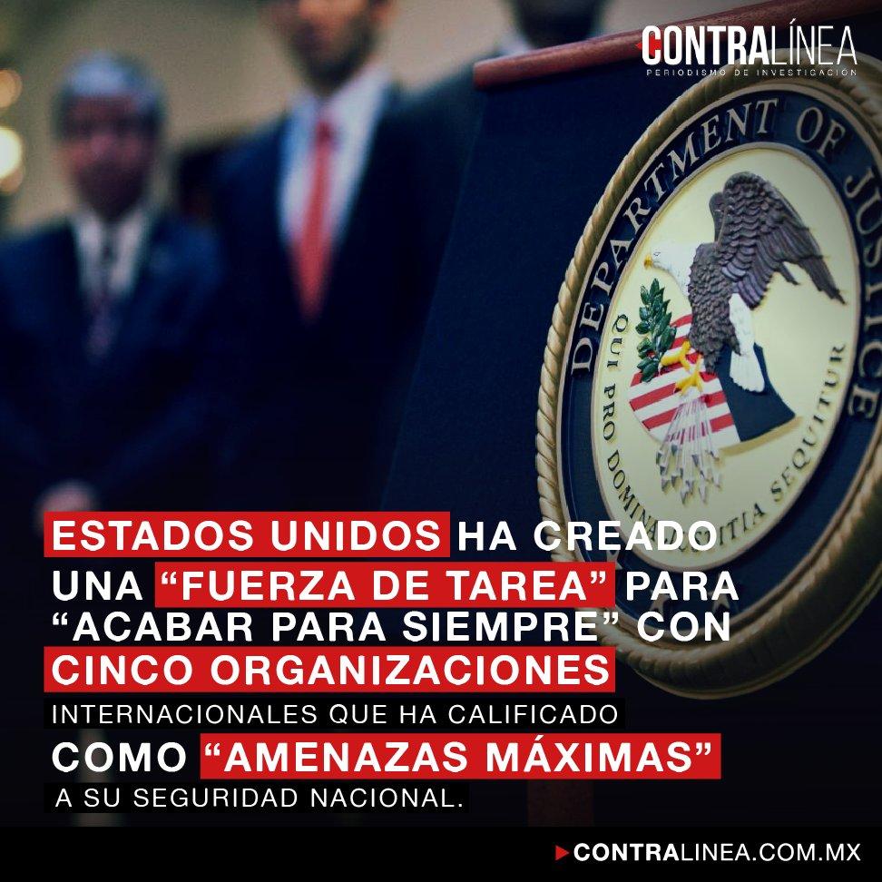 RT @contralinea: La Fuerza de Tarea gringa que viene por el Mayo y por el Mencho | Lee aquí: https://t.co/hP7rkln0mX https://t.co/sZRrBe2UrI