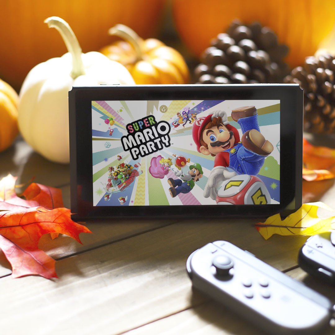 Visiting the family for Thanksgiving or staying home for a Friendsgiving? Either way, #SuperMarioParty for #NintendoSwitch lets you bring the party with you wherever you go! https://t.co/INZfsxR5E4