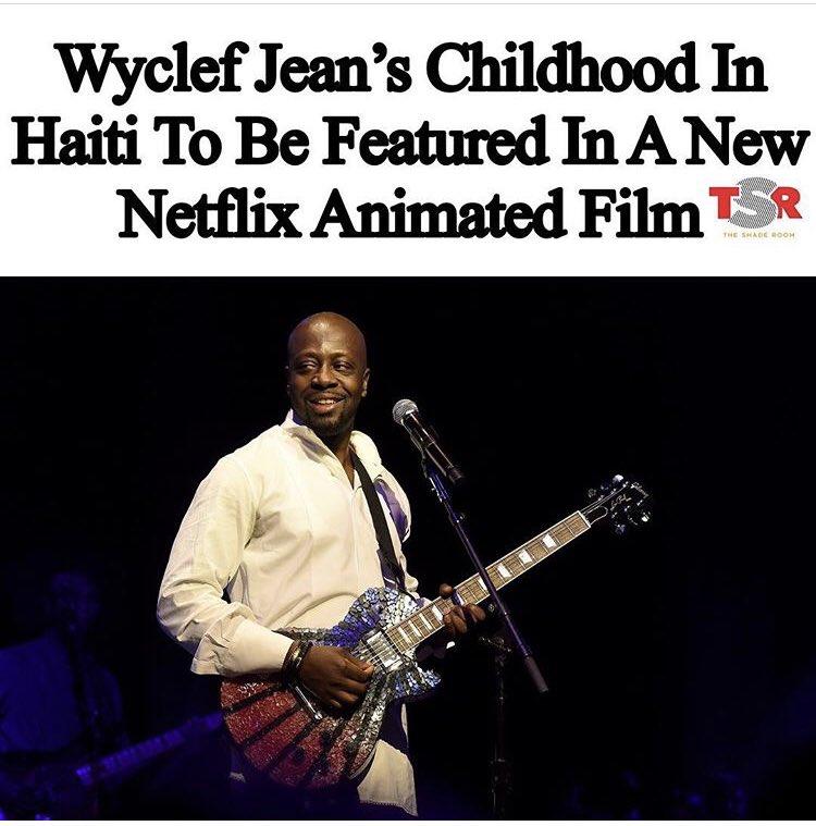 Who would be down to watch? 👀@wyclefjean @netflix #haiti #haitian #haitians #haitianpeople #wyclef #wyclefjean #netflix #nexflixandchill #animatedfilm #haitianexcellence #karabela #mcm #motivationmonday #karabela https://t.co/eX5wBr5DXi