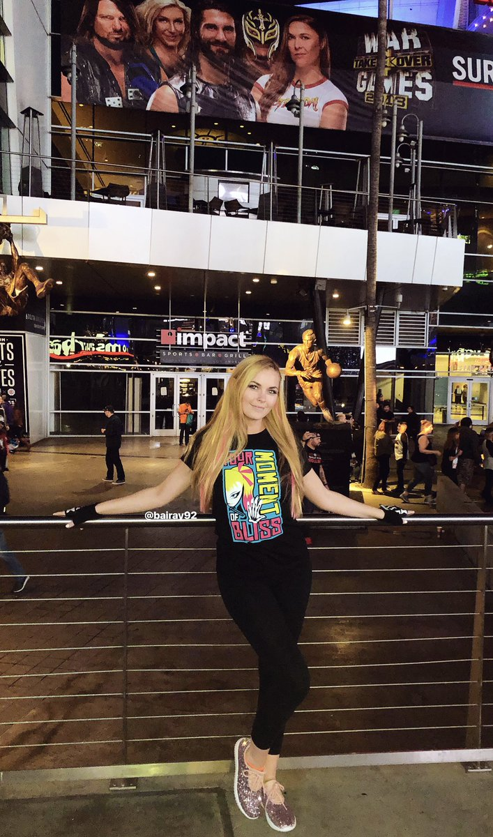 1 pic. I had so much fun at #SurvivorSeries yesterday! In case anyone was unaware, yes, I'm a big #AlexaBliss