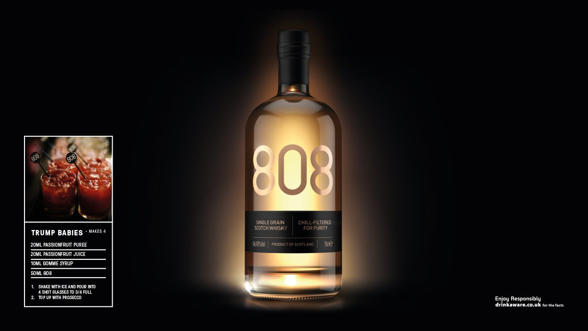 A light, easy-drinking whisky with notes of honey, vanilla & white chocolate, 808 Whisky can just as easily replace vodka in classic cocktails we know & love. #whisky #music Download our Winter Edition supplement now. @8o8drink https://t.co/7lzc7hI2aN https://t.co/AK7zDbHm1U