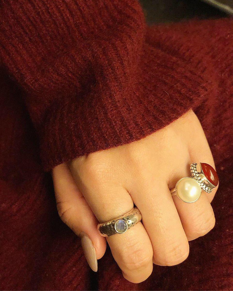 test ツイッターメディア - 【Biju mam 大阪ルクアイーレ2F入荷速報‼︎】 ドットのような?デコボコ(Bumpy)のsilver925指輪がベースに 直結5ミリ程の丸い天然石がポチッとついたBumpy ring  おサイズ調整が出来ないタイプですが、現在在庫が入荷いたしましたので、指にピタリと合うシンデレラフィットのリンクをお選び頂けます♡ https://t.co/kPENepd4o9