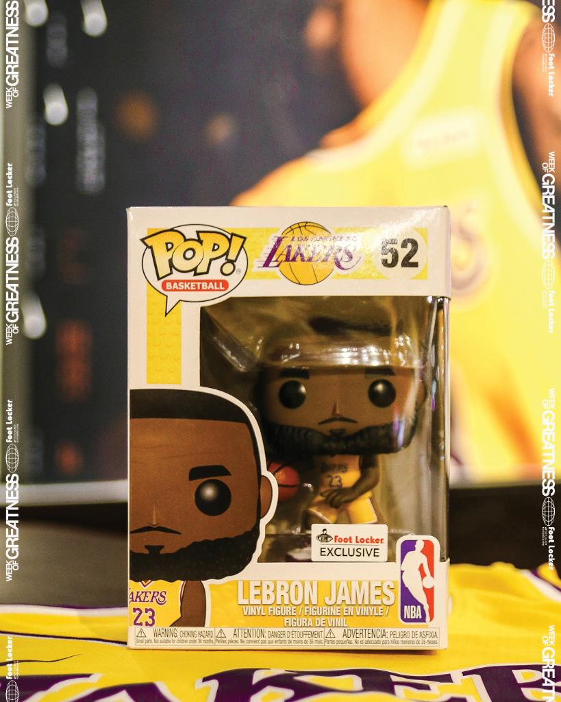 5ff7a69d022 slightly shorter than the real lebron foot locker exclusive funko pop  lebron james available now in
