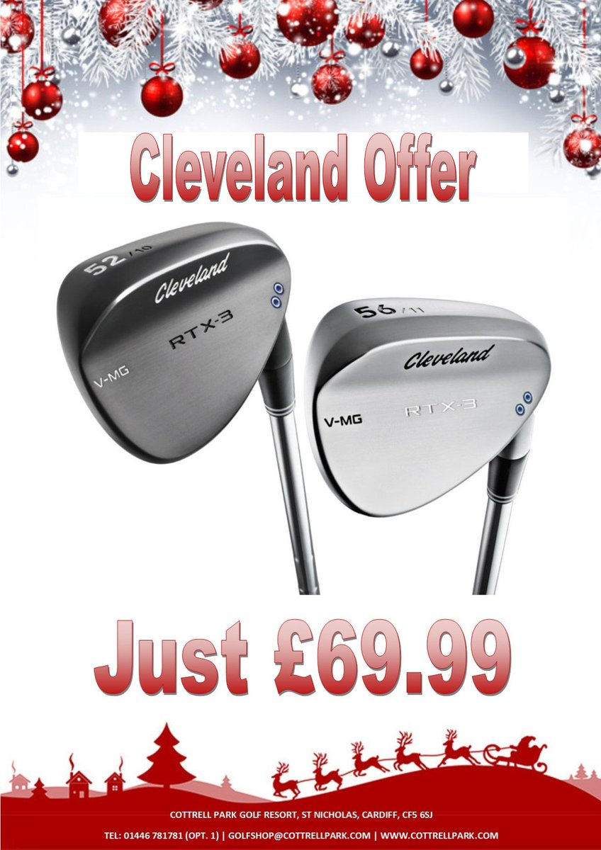 test Twitter Media - We are getting into the #Christmas spirit here @CottrellParkLtd.  Come and check out all of these fantastic festive offers on brands such as @ClevelandGolf, @SrixonGolf and @FootJoy.   Ho Ho Hurry... while stocks last!!!  https://t.co/B8IHywfSlJ Tel: 01446 781781 (opt. 1) https://t.co/ZpzRtYWyj4