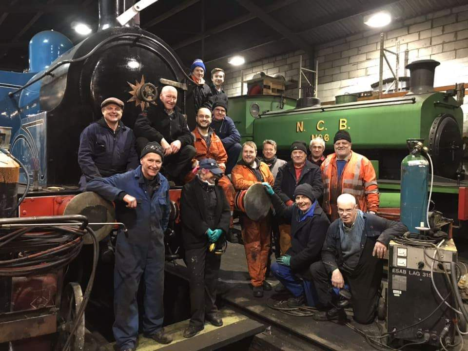 test Twitter Media - Very productive Monday evening in the steam shed. Fantastic turn out! We're always looking for more #volunteers to join us. More info here https://t.co/WJ1vIFF7SQ #TeamSteam ^JS https://t.co/mIU7pgvloJ