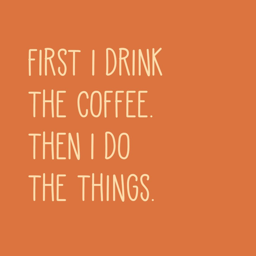 The rules are simple! ????☕ #ButFirstCoffee https://t.co/is5IrlN6KH