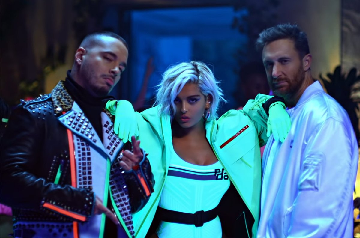 RT @billboard: .@davidguetta, @BebeRexha & @JBALVIN go neon for