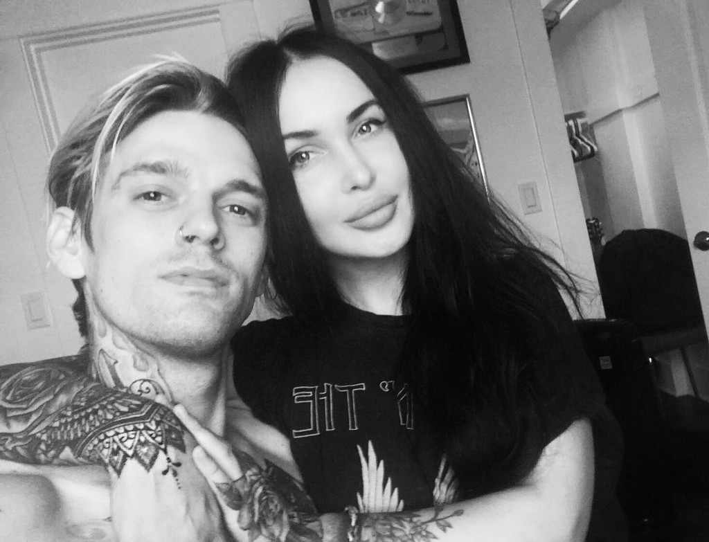Aaron Carter and his girlfriend Lina Valentina are expecting their first child together.