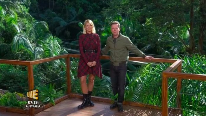 Here's how you can copy Holly Willoughby's ImACeleb outfit on the high