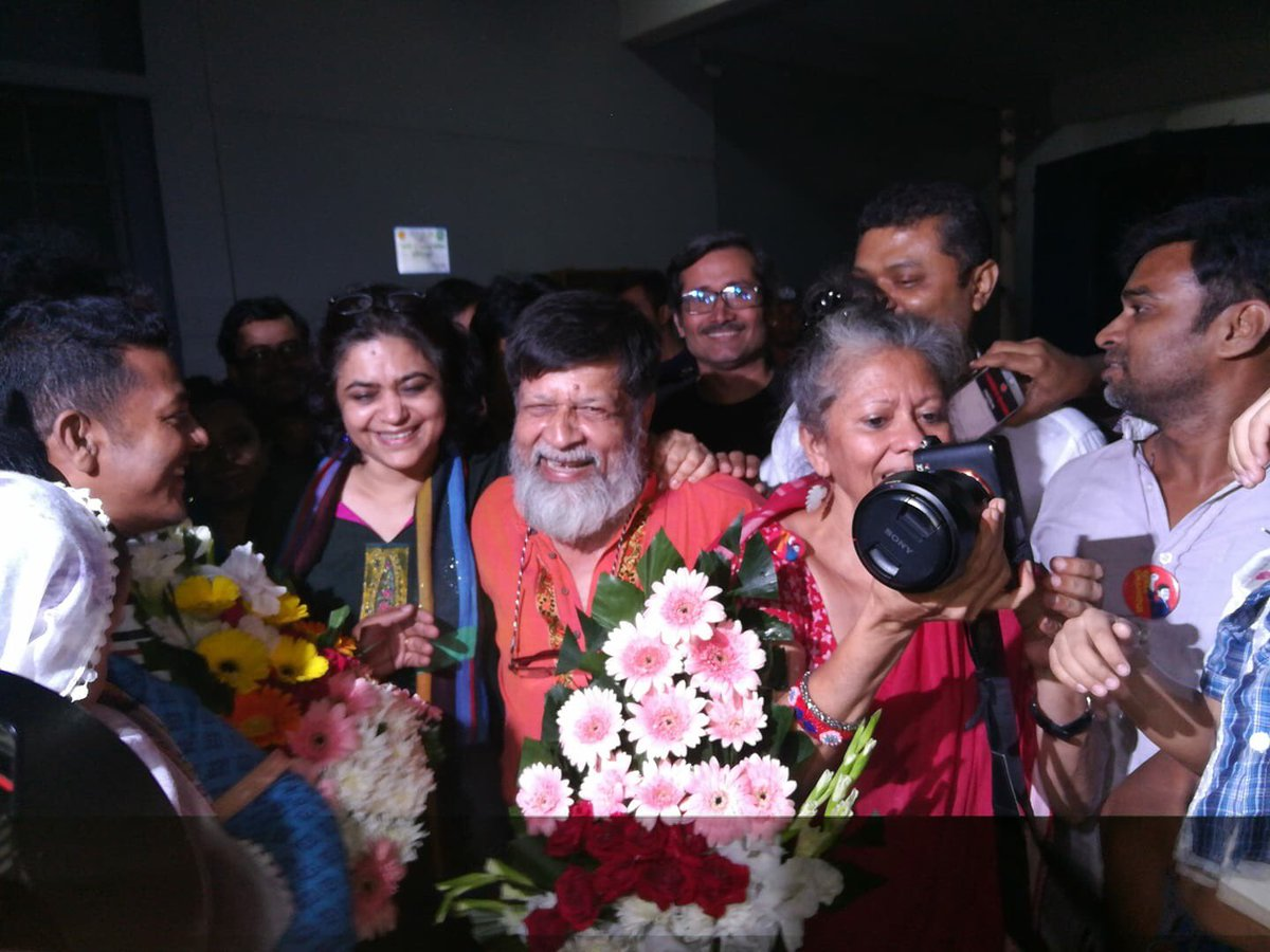 Shahidul is out!!!! Thank you to all who helped, with love and care!!!! Sharon #FreeShahidulAlam https://t.co/G87bBEGbpS
